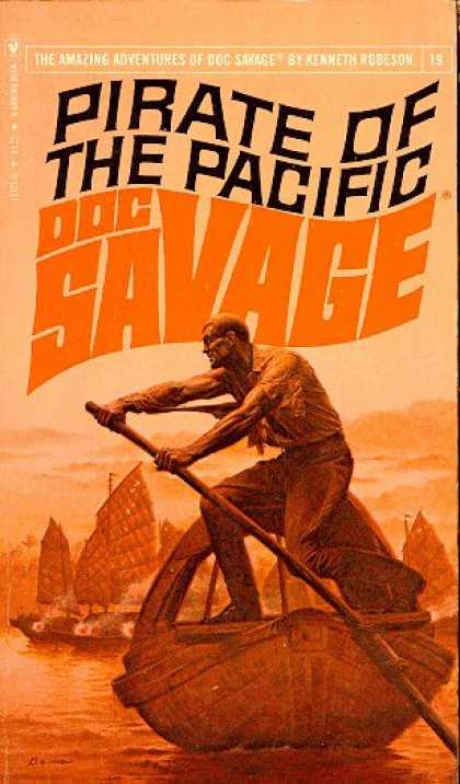 Doc Savage Books - Pirate of the Pacific