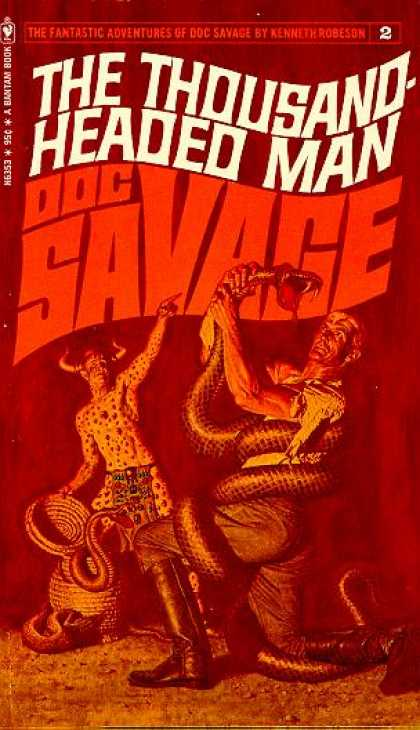 Doc Savage Books - Doc Savage #2: The Thousand Headed Man