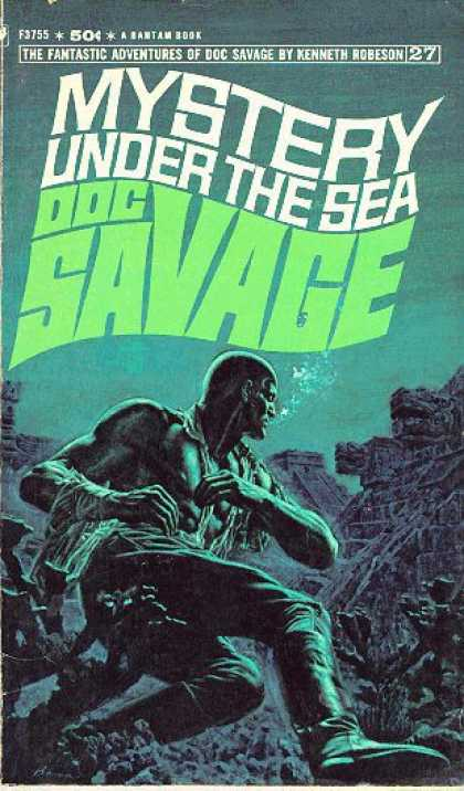 Doc Savage Books - Mystery Under the Sea