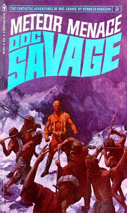 Doc Savage Books - Meteor Menace - Kenneth Robeson