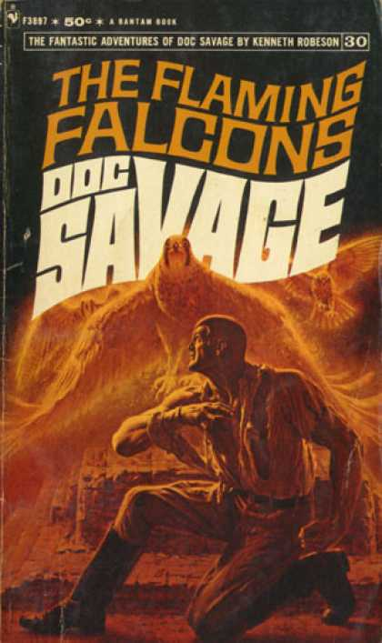 Doc Savage Books - The Flaming Falcons: Doc Savage 30