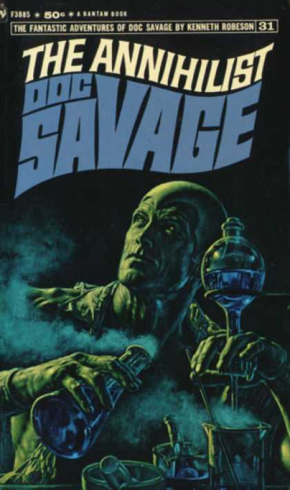 Doc Savage Books - The Annihilist