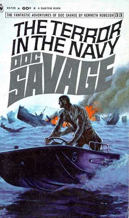 Doc Savage Books - The Terror In the Navy: Doc Savage 33 - Kenneth Robeson
