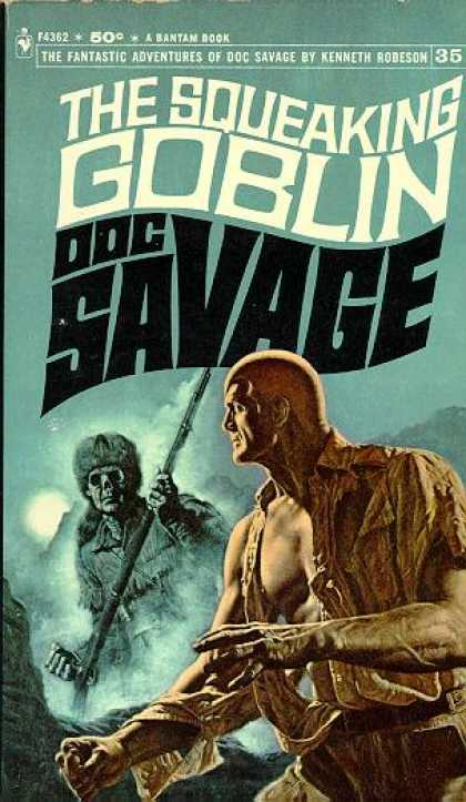 Doc Savage Books 35