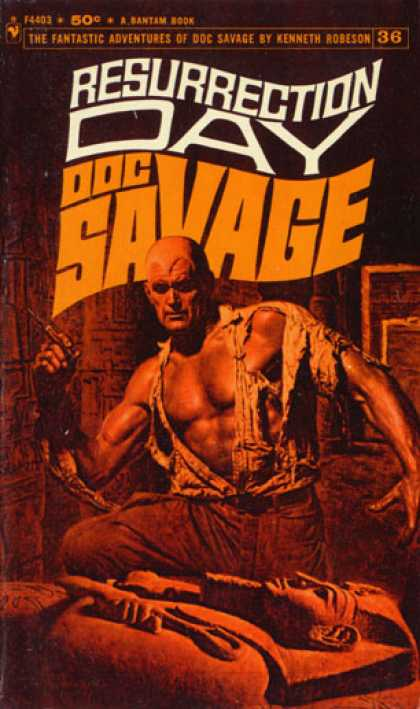 Doc Savage Books - Resurrection Day