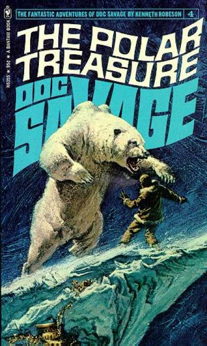 Doc Savage Books 4