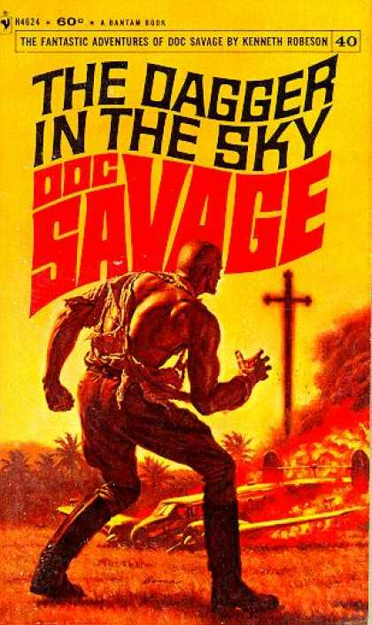 Doc Savage Books - The Dagger In the Sky - Kenneth Robeson