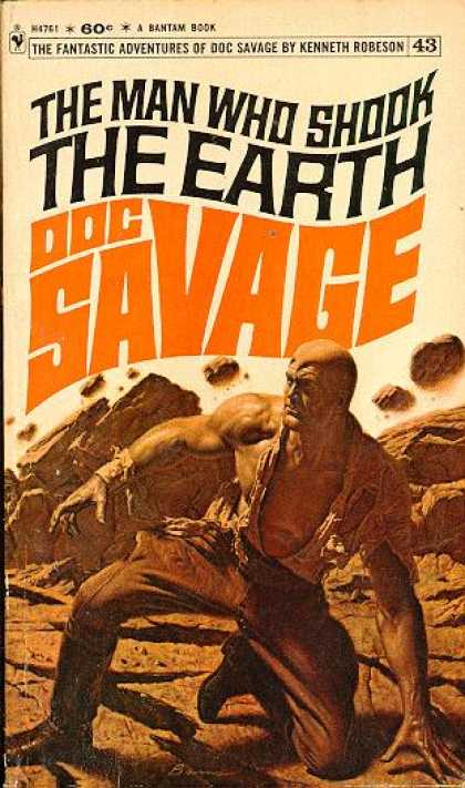 Doc Savage Books - The Man Who Shook the Earth - Kenneth Robeson