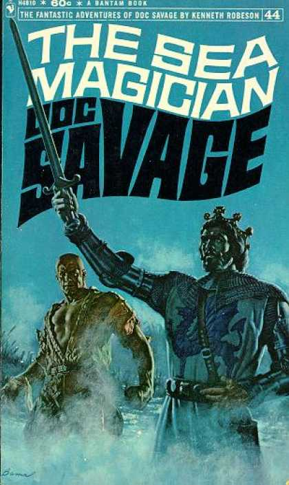 Doc Savage Books - The Sea Magician (bantam H4810)