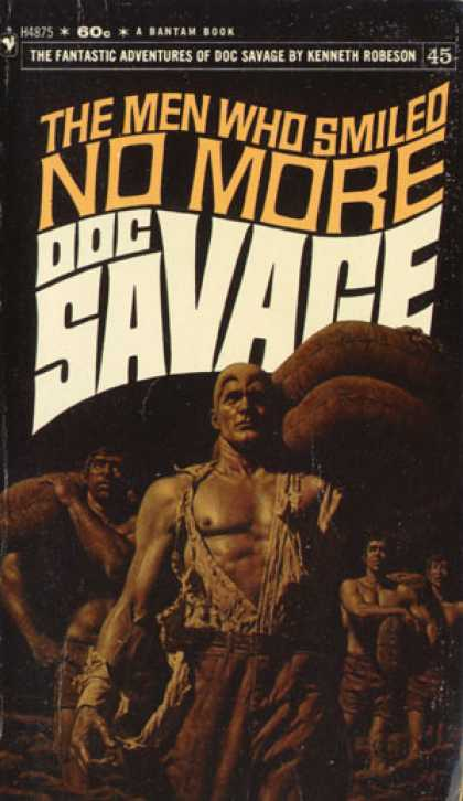 Doc Savage Books - The Men Who Smiled No More