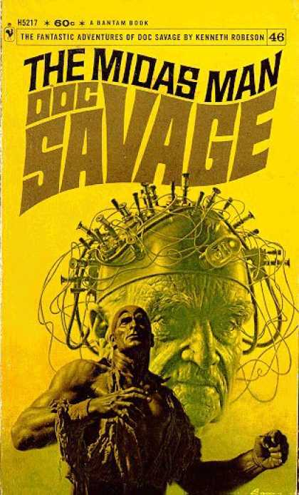 Doc Savage Books - The Midas Man: A Doc Savage Adventure - Kenneth Robeson