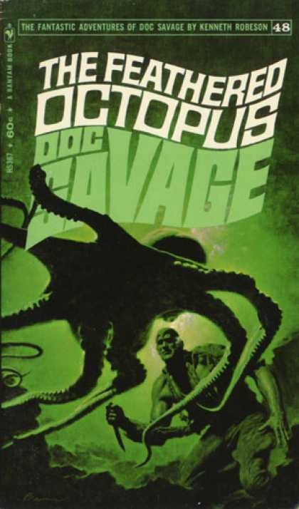 Doc Savage Books - The Feathered Octopus - Kenneth Robeson