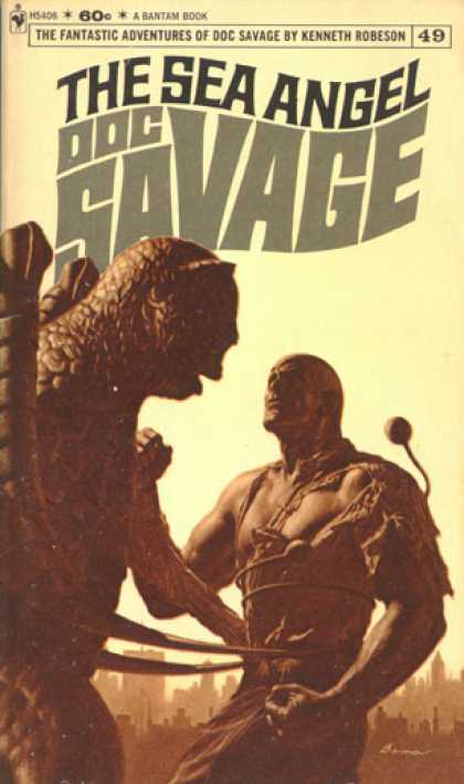 Doc Savage Books - The Sea Angel Doc Savage #49 - Kenneth Robeson