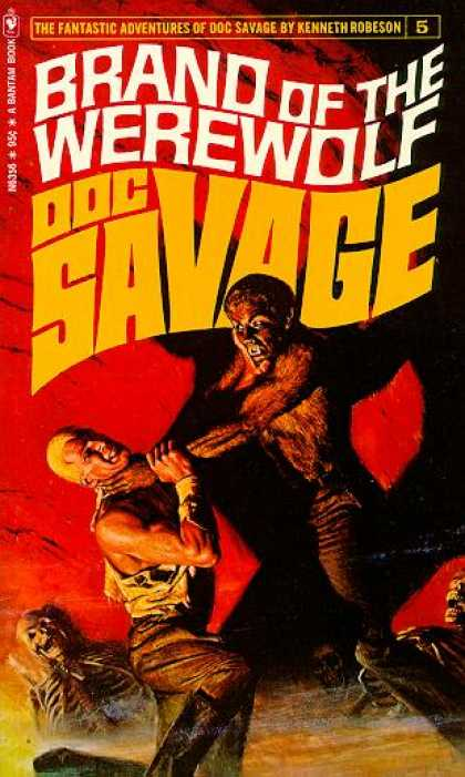 Doc Savage Books 5