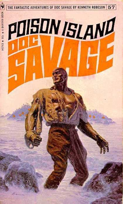 Doc Savage Books - Doc Savage: Poison Island - Kenneth Robeson