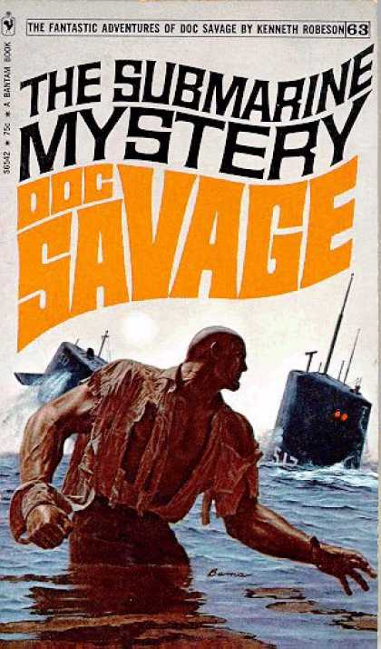 Doc Savage Books - Doc Savage # 62: The Submarine Mystery