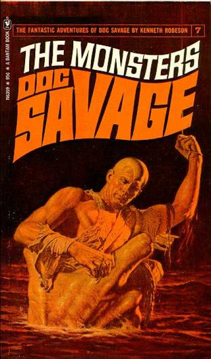 Doc Savage Books - The Monsters