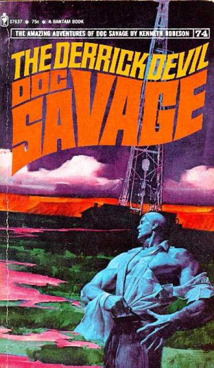 Doc Savage Books - The Derrick Devil - Robeson