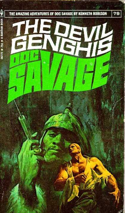 Doc Savage Books - Devil Genghis