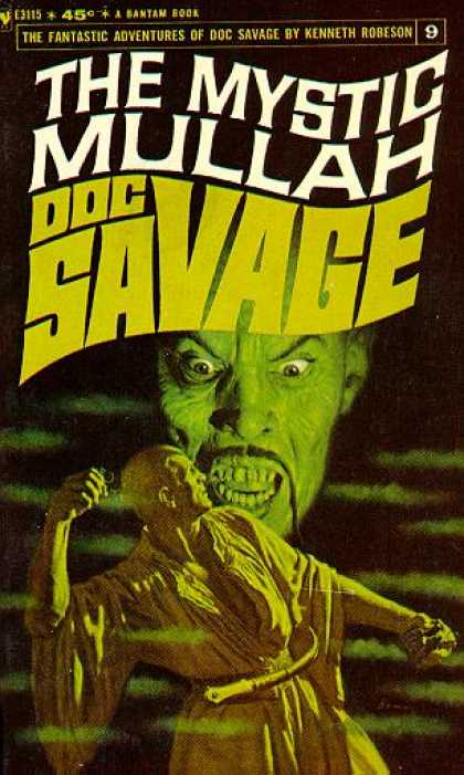 Doc Savage Books - The Mystic Mullah - Kenneth Robeson