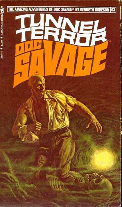 Doc Savage Books - Tunnel Terror - Kenneth Robeson