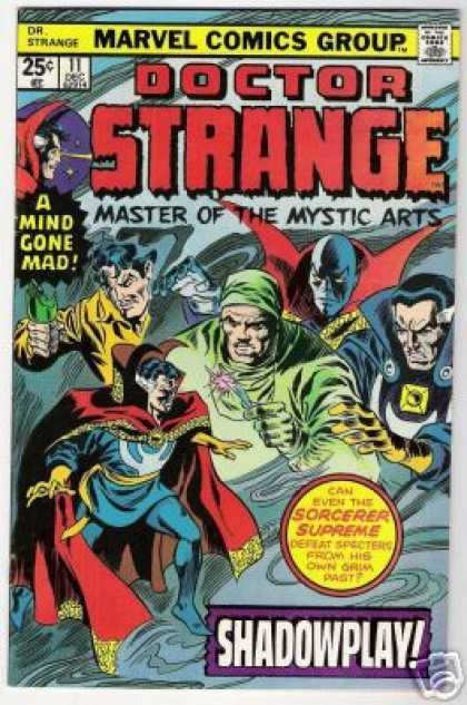 Doctor Strange 11 - Sorcerer Supreme - Marvel Comics - Master Of The Mystic Arts - A Mind Gone Mad - Shadowplay