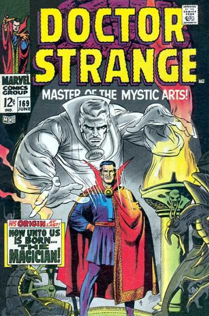 Doctor Strange 169 - Origin - The Magician - Lizards - Cape - Cave
