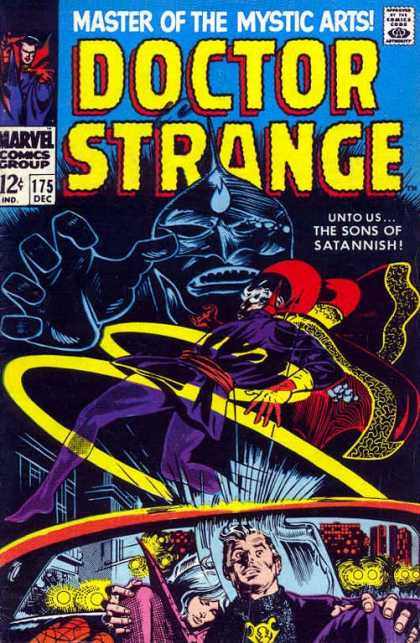 Doctor Strange 175 - Master - Mystic Arts - Sons - Santannish - Marvel Comic - Gene Colan
