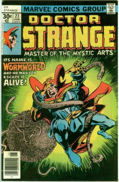 Doctor Strange 23 - Snake - Attack - Survive - Poison - Bite - Gene Colan