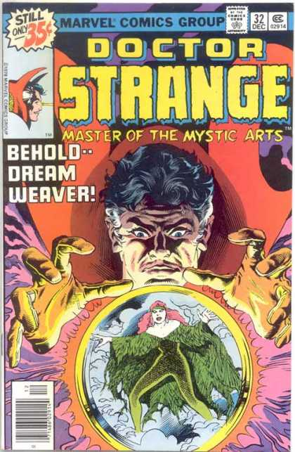 Doctor Strange 32 - Crystal Ball - Master Of The Mystic Arts - Behold--dream Weaver - Cloaks - Evil Man