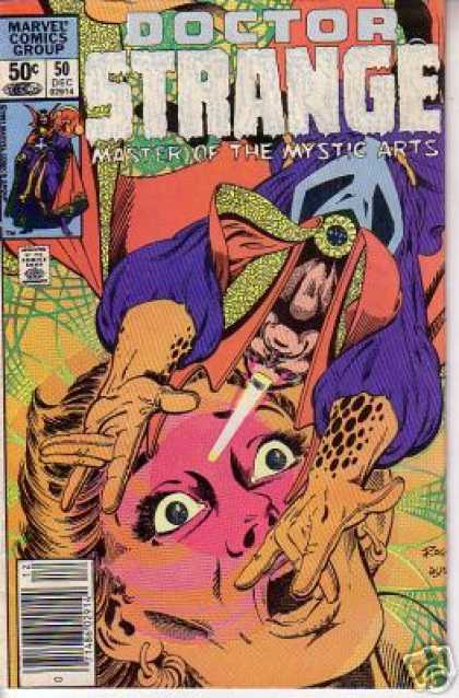 Doctor Strange 50 - Magic - Fear - Mystic - Woman - Eyes - Terry Austin