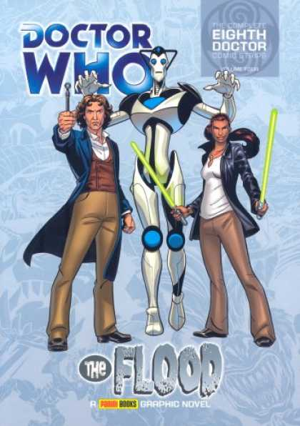 Doctor Who Books - Doctor Who - The Flood (Complete Eighth Doctor Comic Strips Vol. 4)