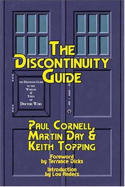 Doctor Who Books - The DisContinuity Guide: The Unofficial Doctor Who Companion