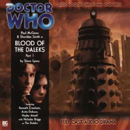 Doctor Who Books - Blood of the Daleks (Doctor Who)