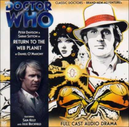 Doctor Who Books - Return to the Web Planet (Doctor Who)