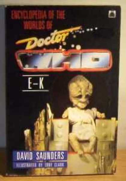 Doctor Who Books - Encyclopedia of the Worlds of Doctor Who: E-K