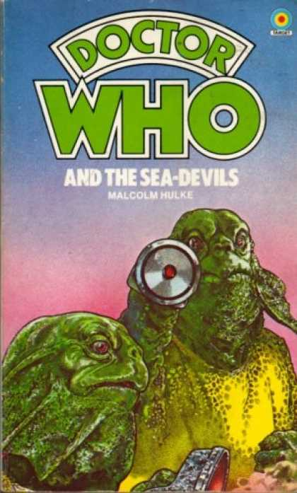 Doctor Who Books - Doctor Who and the Sea-Devils (The Doctor Who Library, 54)