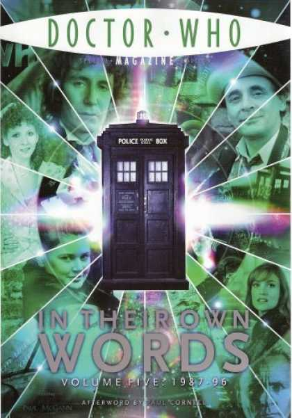 Doctor Who Books - Doctor Who in Their Own Words Volume 5 (1987 to 1996 DWM Special Edition 21)