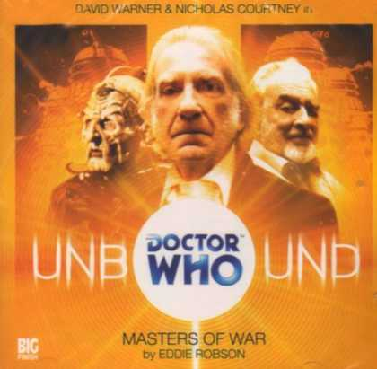 Doctor Who Books - Masters of War (Doctor Who: Unbound)