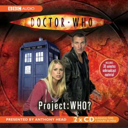 "Doctor Who Books - ""Doctor Who"", Project Who? (BBC Audio)"