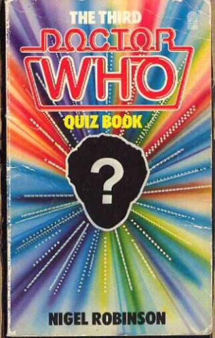 Doctor Who Books - The Third Doctor Who Quiz Book