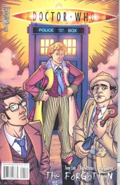 Doctor Who Books - Doctor Who Forgotten #4
