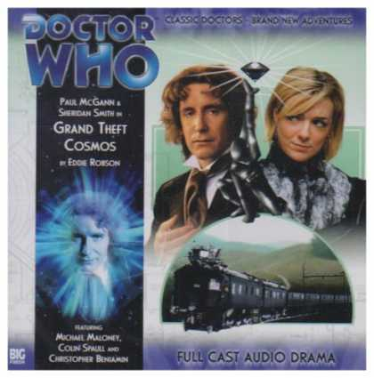 Doctor Who Books - Grand Theft Cosmos (Doctor Who: The New Eighth Doctor Adventures)