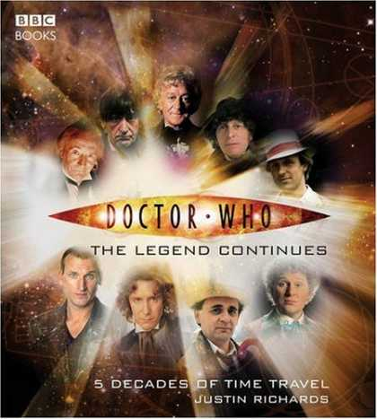Doctor Who Books - Doctor Who: The Legend Continues (Dr Who)