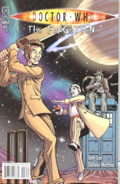 Doctor Who Books - Doctor Who Forgotten #3