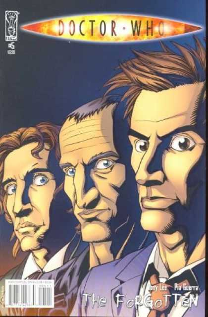 Doctor Who Books - Doctor Who: The Forgotten #5