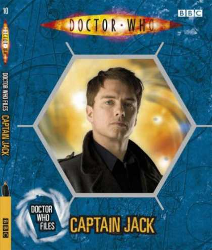 "Doctor Who Books - ""Doctor Who"" Files Captain Jack"