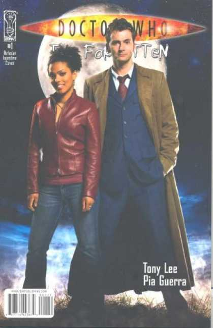 Doctor Who Books - Doctor Who The Forgotten #1