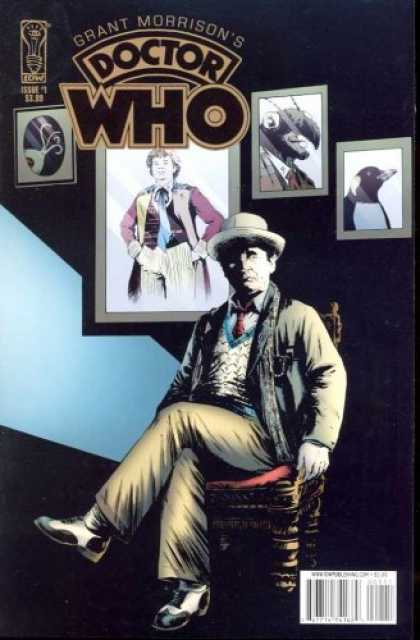 Doctor Who Books - GRANT MORRISONS DOCTOR WHO #1