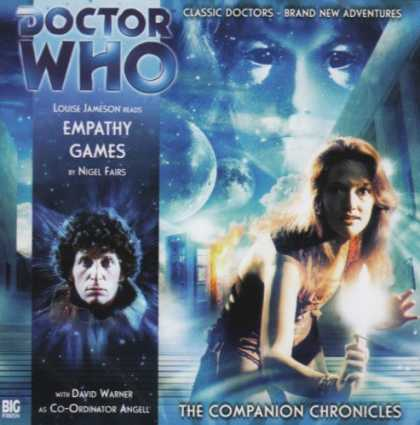 Doctor Who Books - Doctor Who Empathy Games Chronicles CD (Dr Who Companion)